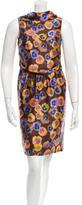 Missoni Sleeveless Floral Sillk Mini Dress