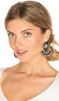 Elizabeth Cole Caden Earring in Blue.