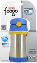 Green Baby Foogo by Thermos Vacuum Insulated Stainless Steel Straw Bottle - Blue - 10 oz