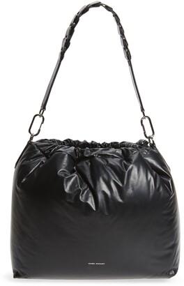 Isabel Marant Baggara Leather Shoulder Bag