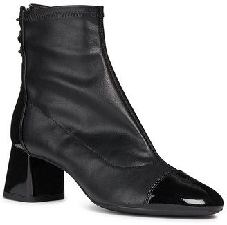 Geox Seylise Patent Ankle Boot