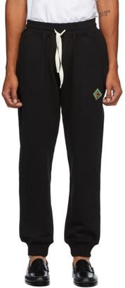 Casablanca Black Antique Logo Lounge Pants