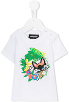 DSQUARED2 print T-shirt - kids - Cotton - 6 mth