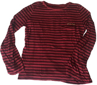 Zadig & Voltaire Red Cotton Top for Women