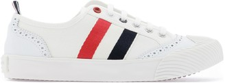 Thom Browne Stripe Detailed Lace-Up Sneakers