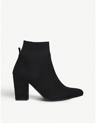 Tobi faux-suede ankle boots