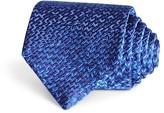 Lanvin Tweed Woven Silk Classic Tie