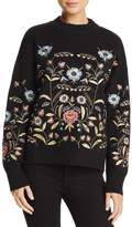 Lucy Paris Embroidered Sweater - 100% Exclusive