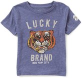 Lucky Brand Little Boys 2T-7 Tiger Face Short-Sleeve Tee