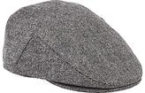 John Lewis Pindot Flat Cap, Grey