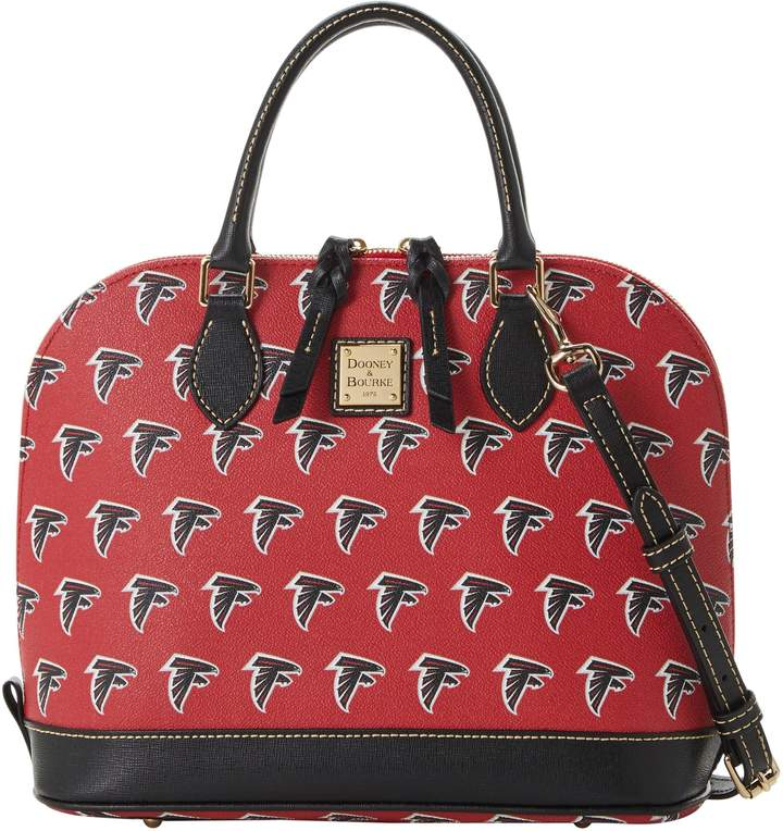 Dooney & Bourke NFL Falcons Zip Zip Satchel