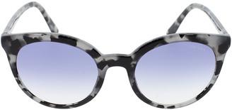 Prada Grey Tortoiseshell Sunglasses