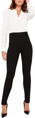 Damsel in a Dress Cammie High Waist Trousers, Black