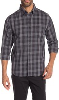 Ben Sherman Plaid Print Classic Fit Shirt