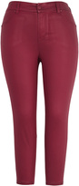 Melissa McCarthy Pomegranate Skinny Jeans - Plus