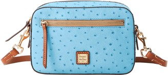 Dooney & Bourke Ostrich Camera Zip Crossbody