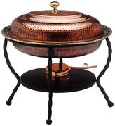 Old Dutch 6-qt. Oval Antiqued Copper Chafing Dish