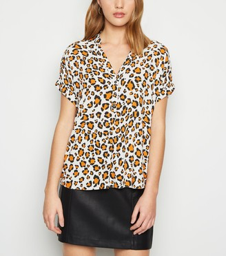 New Look Animal Print Overhead Shirt