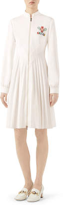 Gucci Technical jersey dress with Tennis