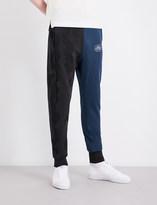 Vivienne Westwood Dual-print cotton-jersey jogging bottoms
