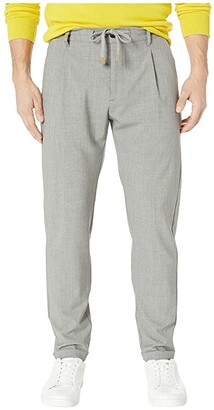 Eleventy Stretch Wool Jogger (Mid Grey) Men's Casual Pants