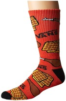 Vans Chicken N Waffles Crew 1-Pack Men's Crew Cut Socks Shoes