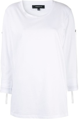 Barbara Bui Long-Sleeve Jersey Tee
