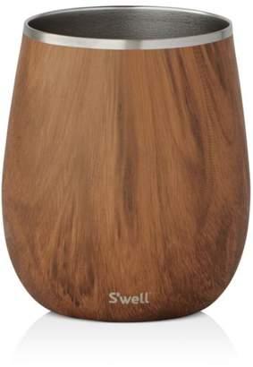 Swell Teakwood Wine Tumbler, 9 oz.