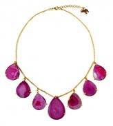 Mela Artisans Dewdrop in Purple Necklace