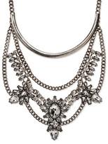 SUGARFIX by BaubleBar Statement Bib Necklace - Crystal