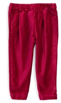 Tea Collection Infant Girl's Velvet Pants