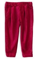 Tea Collection Infant Girl's Velvet Pants