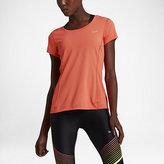Nike Dri-FIT Contour Short-Sleeve Women's Running Shirt