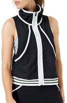 MPG Zip-Front Sleeveless Jacket