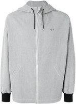 MAISON KITSUNÉ Seersucker David hooded jacket