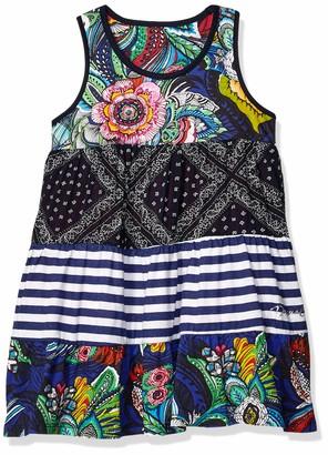 Desigual Girl's Knit Dress Straps (Vest_Maseru)