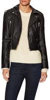 Hanna Leather Motorcycle Jacket