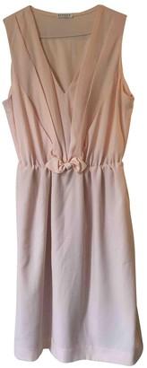 Claudie Pierlot Pink Synthetic Dresses