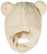 Zutano Furry Bear Hat (Infant) - Oat - 6 Months