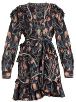 Isabel Marant Ullo floral-print ruffled cotton dress