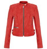 Muu Baa Muubaa Muubaa Molina Red Suede Jacket