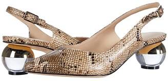 Rachel Zoe Berry (Metallic Snake) Women's Shoes