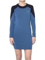 Lacoste Two Tone Jersey Sweater Dress