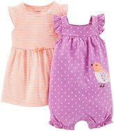 Carter's 2 Piece Dress & Romper Set (Baby)