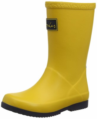 Joules Girl's Roll Up Welly Wellington Boots