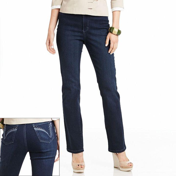Gloria Vanderbilt gloria comfort waist bootcut jeans