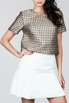 Ark & Co Cropped Party Top