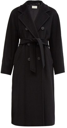 Max Mara Madame Coat - Womens - Black