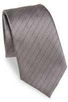 Armani Collezioni Herringbone Silk Tie