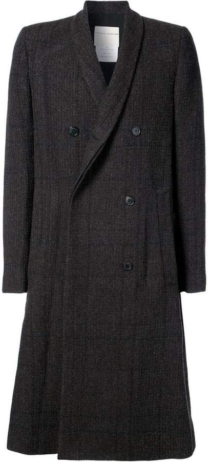 Stephan Schneider plaid double breasted coat